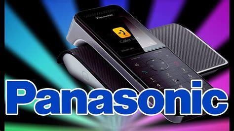 panasonic kx prw premium digital telephone smartphone connect hands  unboxing youtube
