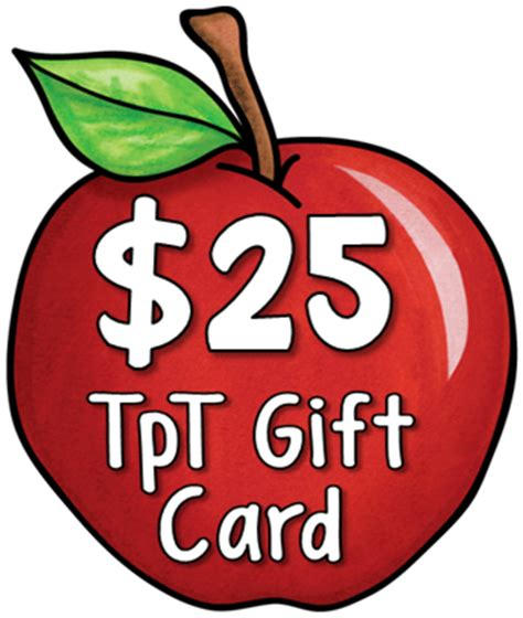 Tpt Gift Card - corkboard connections
