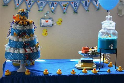 Rubber Duck Baby Shower Decorations by 40 Baby Shower Decoration Ideas Hative