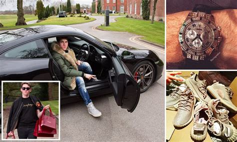 rich kid of instagram aged 17 already has a rolls royce and two bentleys daily mail