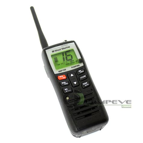 Sale Adaptor 2 1a 10 Wat west marine vhf155 jis8 ipx8 floating two way marine radio