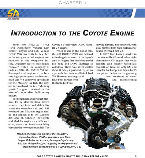 ford coyote engine manual   build max performance mustang book ebay
