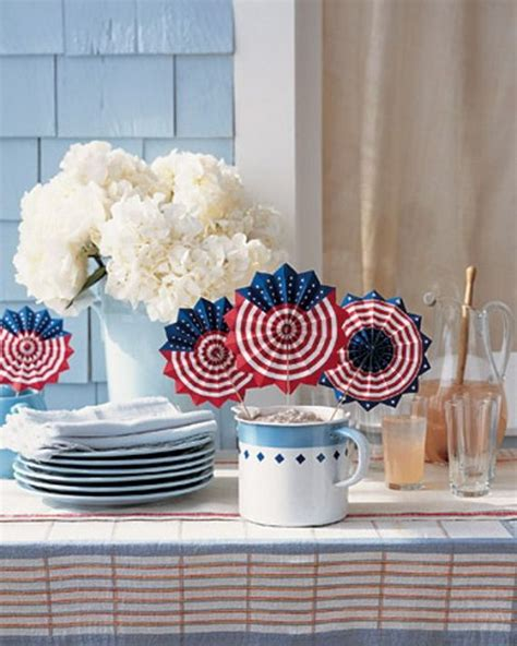4th of july table fourth of july table decorations fourth of july pinterest