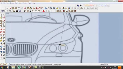 tutorial on sketchup pro google sketchup tutorial how to do a car in 3d part 1