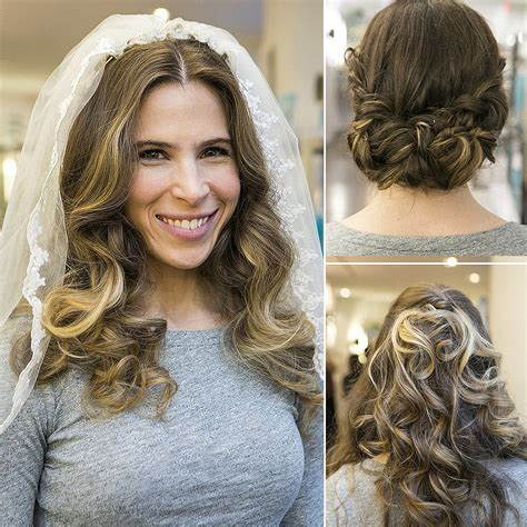 Wedding Hairstyles Up For Ceremony For Reception by 1 Wedding 3 Hairstyles Ceremony Reception And Brunch