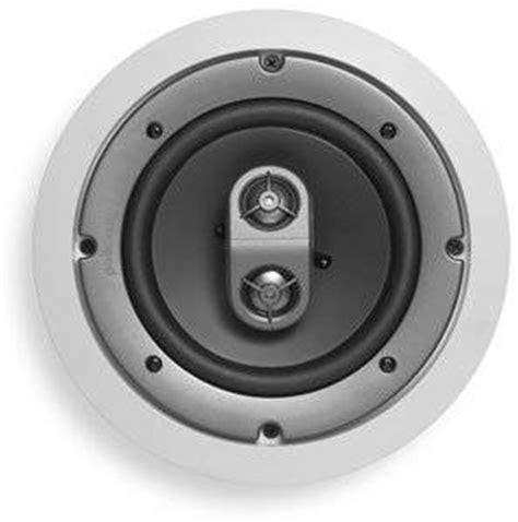 Single Stereo Ceiling Speaker by Polk Audio Sc6s 2 Way Dual Input Stereo Ceiling Speaker