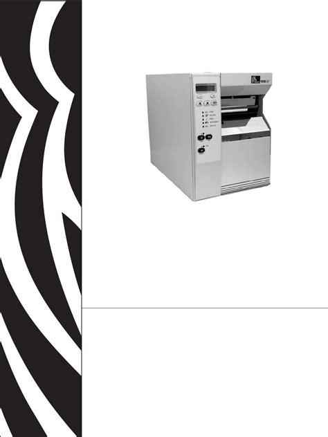 Zebra Technologies Printer 105SLTM User Guide ...