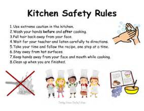 Kitchen Safety For Students by Kitchen Safety By The Magic Of Grade Tpt