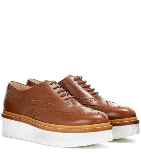 s platform oxford shoes 2 stores in stock tod s leather platform oxford shoes