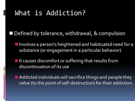 How Does It Take To Self Detox From by Addiction Ppt