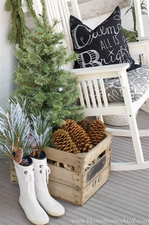 how to decorate the home christmas porch decorating ideas home stories a to z