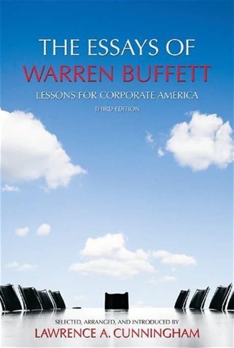 essays of warren buffet 9 books billionaire warren buffett thinks everyone should read financial post