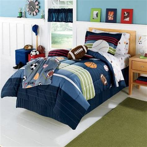 boy comforter sets mvp sports boys baseball basketball football full