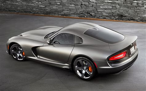 dodge viper 2014 srt viper gts anodized carbon special edition
