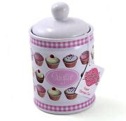 cupcake canisters for kitchen 2018 cupcake kitchen decor ebay