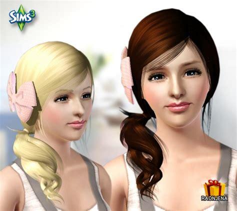 sims 3 custom content haie bow sims 3 custom content haie bow hair bow recolors sims 4