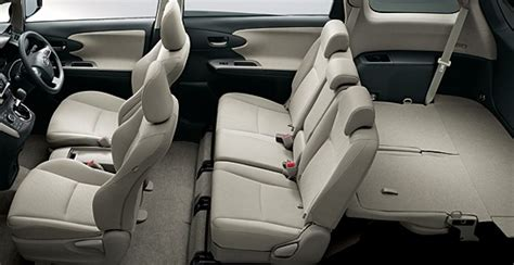Wish Interior Design by New Wish Listed By Toyota Autoworld