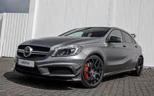 Mercedes Benze Amg 2014 Vaeth Mercedes A45 Amg Wallpaper Hd Car Wallpapers