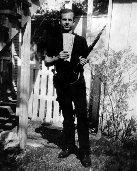 lee harvey oswald backyard photos jfk conspiracy controversial photograph of lee harvey