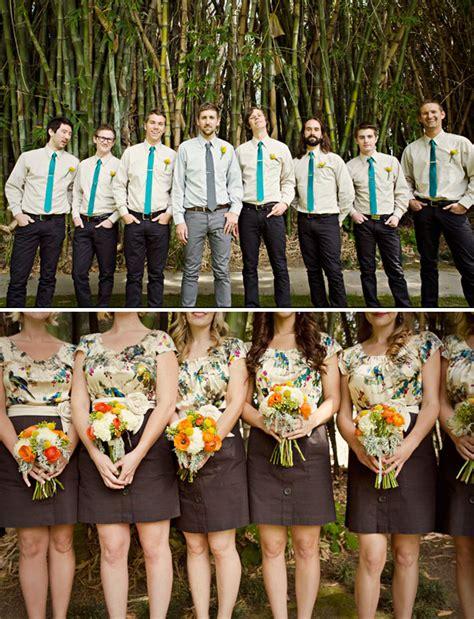 Garden Wedding Reception Attire Real Wedding Brent S Outdoor Wedding Green