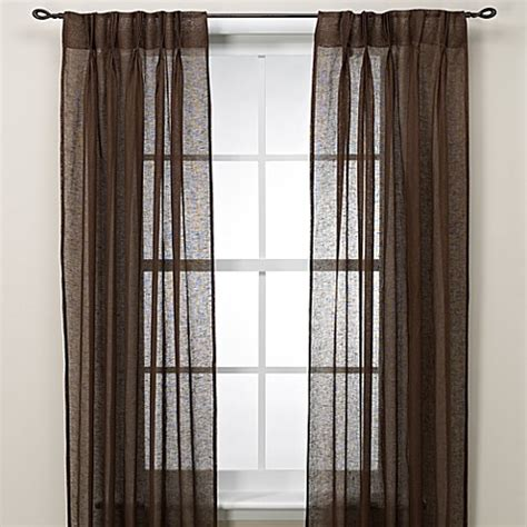 pinch pleat curtains bed bath beyond cosmo back tab pinch pleat window curtain panel bed bath