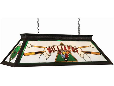 stained glass pool table light game room lighting billiard table lights and accent