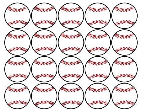 Baseball Printables baseball cupcake toppers free printable paper trail design