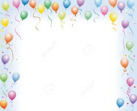 balloon border template free best birthday border 919 clipartion