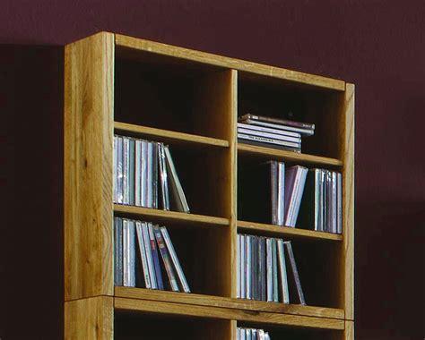 regal cd massivholz cd dvd regal wandregal wildeiche ge 246 lt