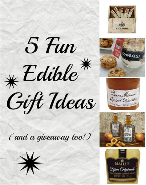 5 edible gift ideas