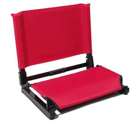 Stadium Chairs For Bleachers by New Sturdy Portable Stadium Chair Bleacher Foldable Seat Great For All Sports Ebay