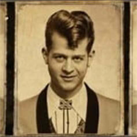teddy boy hairstyles teddy boy hairstyles a short black hairstyle from the