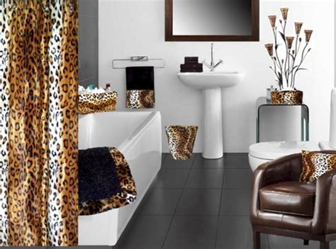 safari bathroom curtain ideas interior design