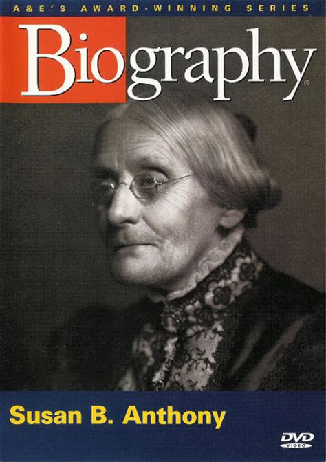 biography susan b anthony biography susan b anthony dvd 733961728057 ebay