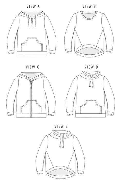 pattern zip up hoodie 25 best ideas about hoodie pattern on pinterest hood