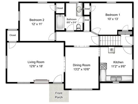 simple floor plan creator beautiful simple floor plan creator gallery flooring