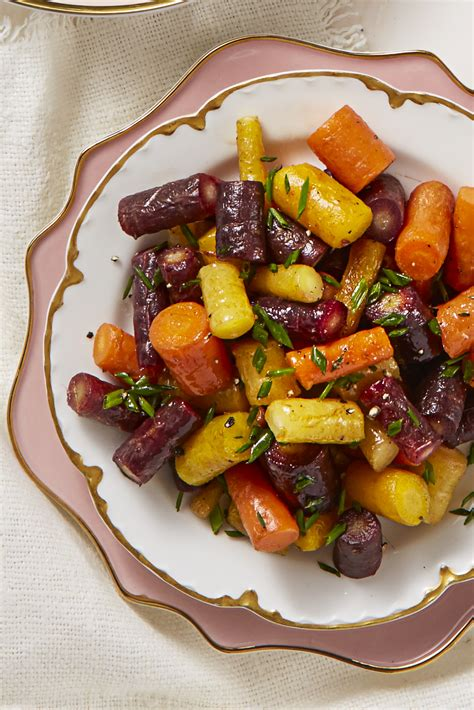 butter glazed rainbow carrots recipe