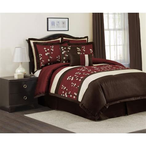King Size Bedroom Decor by Burgundy Coloured Duvet Covers Chelsea Microsuede 7piece