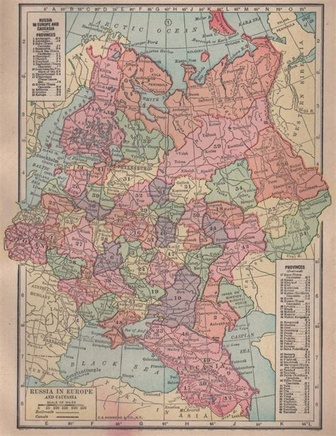 russia map atlas map of russia c s hammond co atlas color c 1910