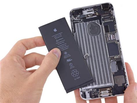 iphone 6 battery iphone 6 plus battery replacement ifixit repair guide