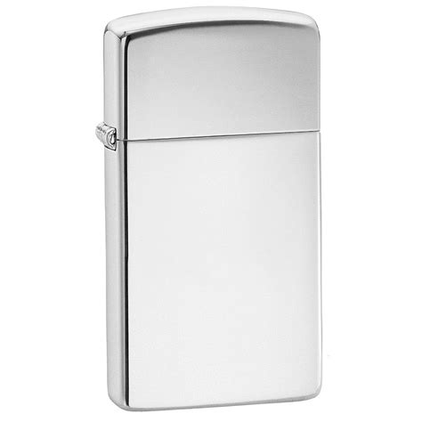 chrome zippo zippo slim high polish chrome lighter fire starters