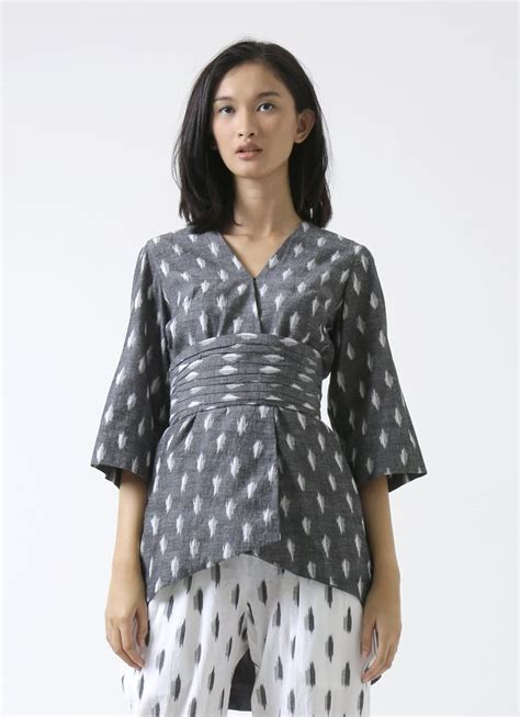 Blouse Tenun Ikat Donggala Grey 218 best asian fashion images on baju