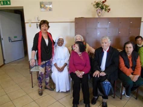 casa di cura san francesco l auser visita gli anziani della casa di riposo san