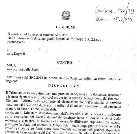 tribunale di pavia cancelleria civile flc cgil sentenza 154 tribunale di pavia 20