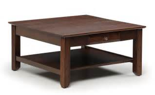 amish solid wood square coffee table