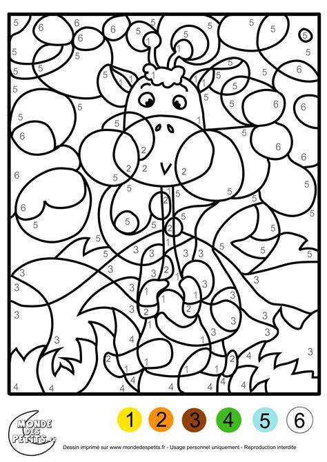 Coloriage Magique 192 Dessins 224 Imprimer Et 224 Colorier Coloriage Magique A Imprimer Gratuit Maternelle L