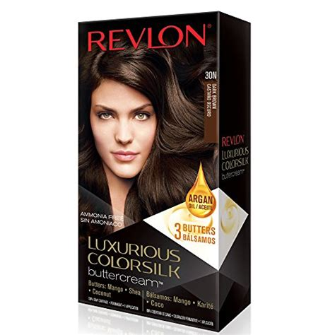 colorsilk buttercream revlon colorsilk luxurious buttercream hair dye dark