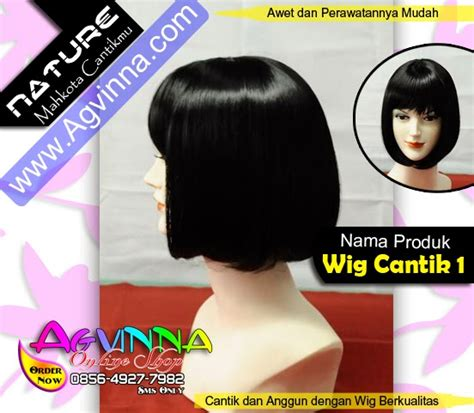 Jual Rambut Palsu Murah Di Surabaya jual wig import berkualitas dan murah