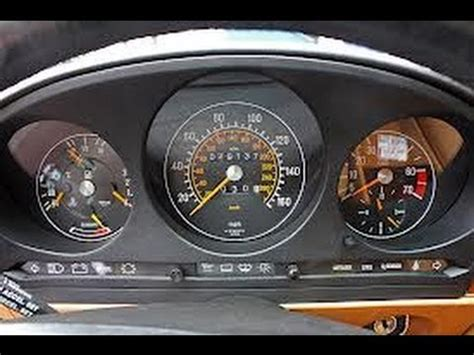 how to remove speedometer cluster from mercedes 560sl 1989