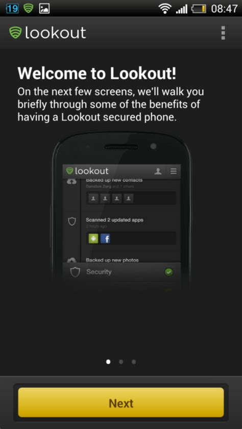 android lookout lookout android app check our review of the app